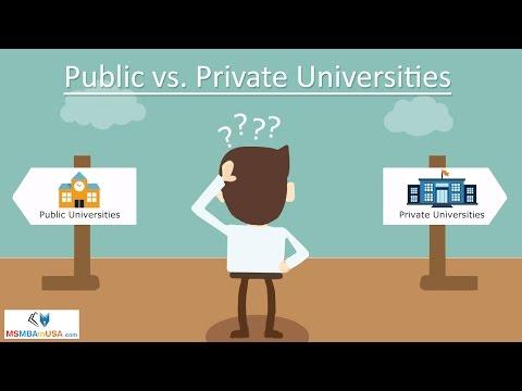 a comparison of the private versus public school