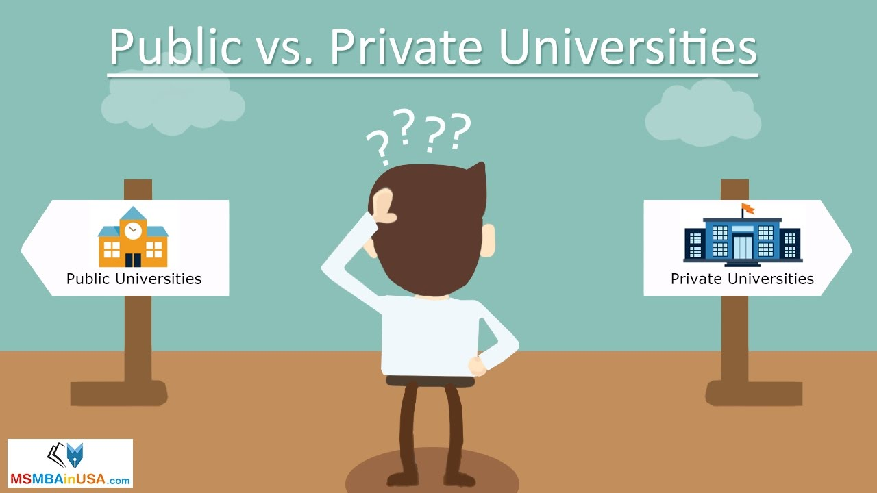 public university vs private university essay Private school vs public school education essay  university department of education) public  and use it as private school tuition the private.