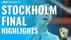 Denis Shapovalov Wins First-Ever ATP Title! | Stockholm 2019 Final Highlights