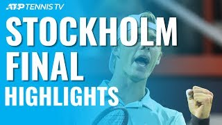 Denis Shapovalov Wins First-Ever ATP Title! | Stockholm 2019 Final Highlights