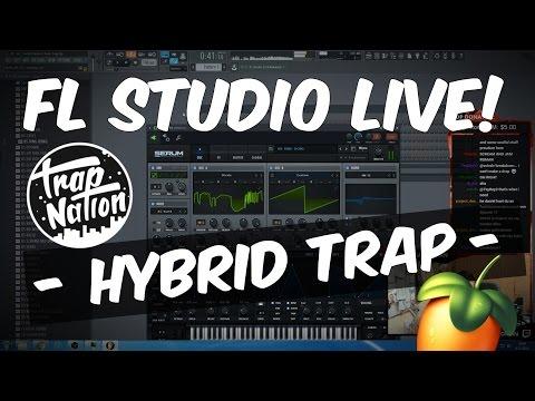 FL Studio Live Stream 27: Hybrid Trap - Skrillex Remix Pt. 1   Twitch EDM