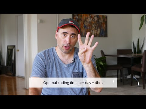 How many hours of coding per day?