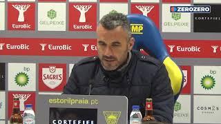 Ivo Vieira recusa falar da arbitragem do Estoril x FC Porto e realça outros aspetos