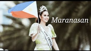 MARANASAN: The year. The experience. The reign. | Miss Universe Catriona Gray