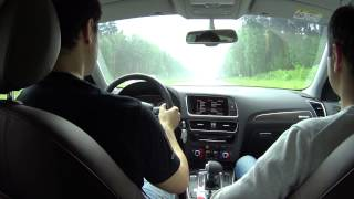DNC: Тест-драйв/Test-drive Audi Q5 facelift