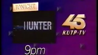 1991 KUTP Channel 45 Promos, 7 O'Clock Movie bumpers, On Tap