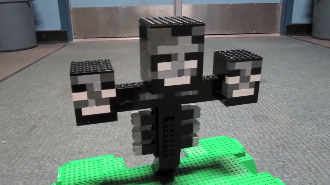 LEGO Wither - Minecraft - YouTube