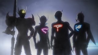 3DCGのガッチャマンが飛び回る! 3DCGアニメ「Infini-T Force」PV #Infini-T Force #3DCG animation
