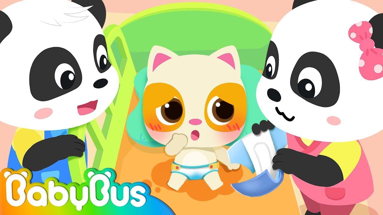 Let's Take Care of Baby   Pretend Play   Kids Cartoon   Kids Animation   Nursery Rhymes   BabyBus