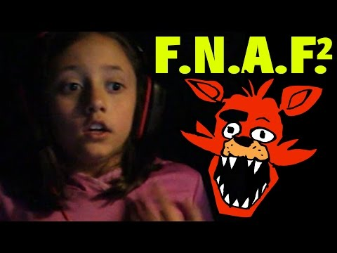 Lex & Chase play Five Nights at Freddys 2 (Face Cam with 8 & 3 Year Old) FGTEEV MARCH 2015