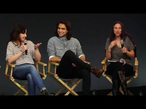The Musketeers Cast  with Luke Pasqualino, Santiago Cabrera, Howard Charles, Maimie McCoy