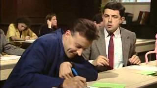 Мистер Бин сдает экзамен по математике