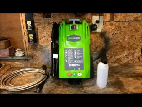 hqdefault greenworks 1500 psi pressure washer review 51142 youtube  at reclaimingppi.co