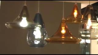 Tech Lighting: Capsian Grande and Mali Pendants