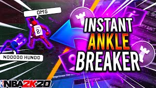 How to Get INSTANT ANKLE BREAKERS In NBA 2k20 - Dribbling Tutorial & Best Sigs On 2k20 Beginners