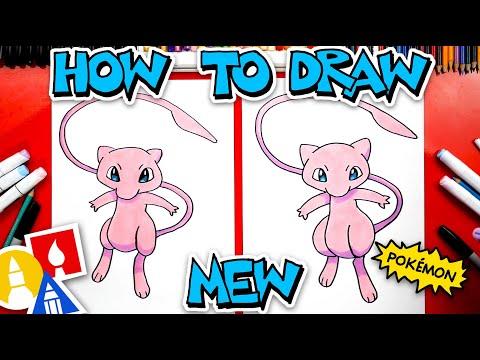 How To Draw Mew From Pokémon