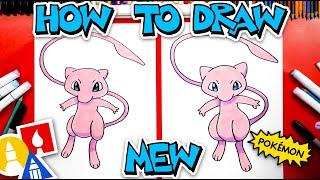 How To Draw Mew From Pokmon