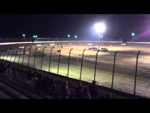 Clay county speedway hornet feature 8/16/14