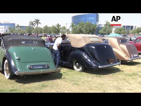 Classic And Vintage Cars At Cairo Motor Show