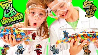 Untamed Mad Lab Minis Science Experiments Surprise Mystery Creatures in Slime Clay and Sand!