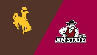Week 0 2018 Wyoming vs New Mexico State Aug 25 2018