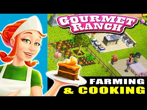 Gourmet Ranch: Farm, Cook and Serve Gameplay (Playdemic) : Reach Level 5 in 20 min - ipad gameplay