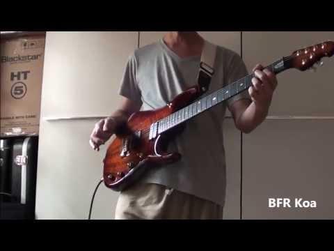 Music Man John Petrucci Original BFR vs Koa Shootout - Clean & Rhythm