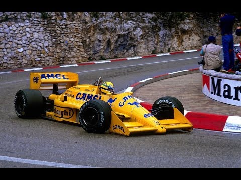 F1 1987 - Monaco Grand Prix (Full Race)