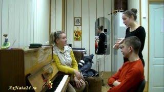 Урок вокала в Швейцарских Альпах. Вокальная техника Йодль.Фольклор