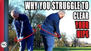 Golf -  Why You Struggle To Clear Your Hips