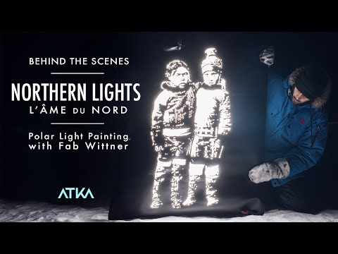 Northern Lights // Behind The Scenes Of Polar Light Painting Project