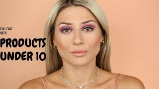 FULL FACE WITH PRODUCTS UNDER 10€ || GIO DREVELI ||