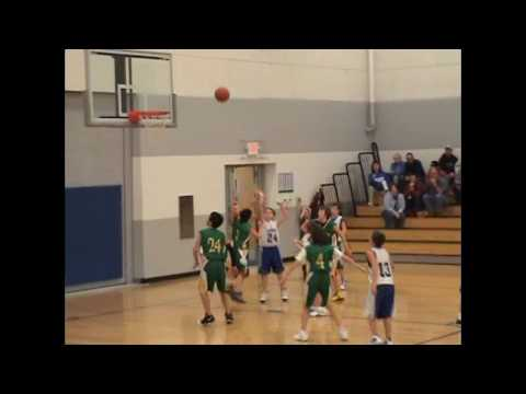 noah tennison palestine basketball game - YouTube