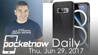 Samsung Galaxy Note 8 case leaks, OnePlus 5  jelly effect  & more   Pocketnow Daily