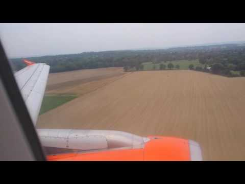 London Gatwick-Landing Easyjet