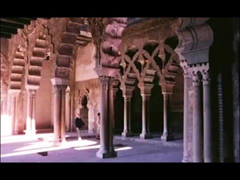 1981 El Palacio de la Aljafería de Zaragoza - Torre del trovador - Arte musulmán - Restauración