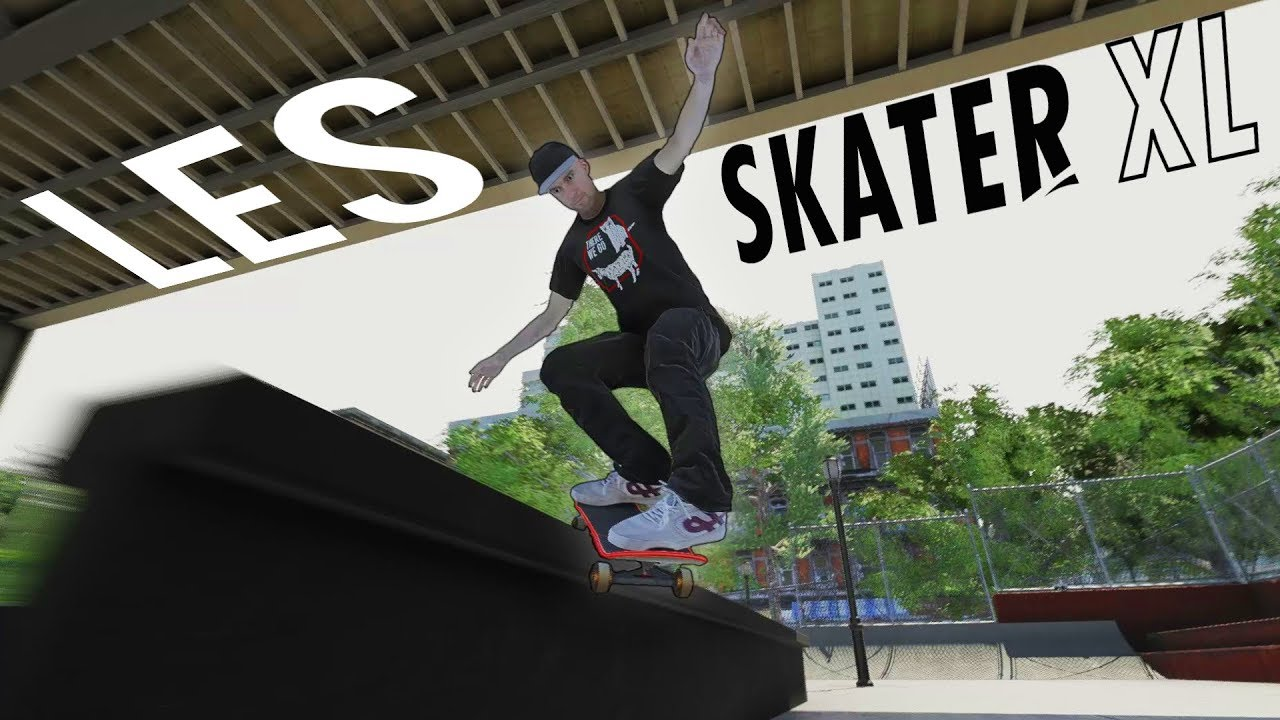 LES Skatepark in SKATER XL! | THIS PARK IS AMAZING