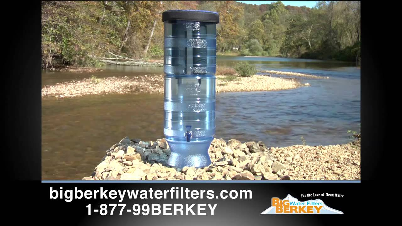 Big Water Filter Systems Berkey Water Filter Introductory Video To The Line Of Berkey