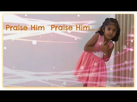 English Action Song - Praise Him Praise Him...
