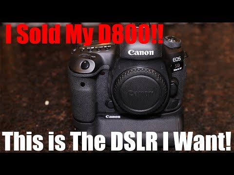 Best DSLR? Maybe! Canon 5D Mark 4 Review! Time Square