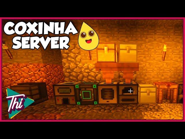 Recuperando Itens e Armazenamento de Energia  - Servidor da Coxinha | Minecraft