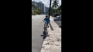 Poor Boy Falls Off His Bike And Faceplants Doing A Trick