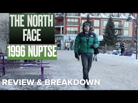 Should You Buy The North Face Retro 1996 Nuptse ? Complete Review And Breakdown (Canadian Winter)