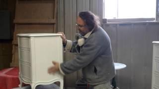 Refinishing Drexel Dressers  At Timeless Arts Refinishing
