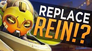 Overwatch: BUFFED Orisa vs. Reinhardt - Rein Replacement?