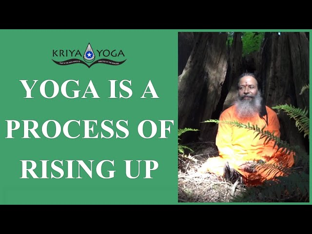 Yoga Is a Process of Rising Up