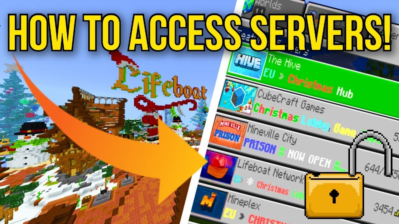 Minecraft Ps4 Bedrock Edition How To Access Servers Tu 1 99 Play Servers Now Ps4 Bedrock Youtube