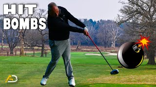 Golf - How To Hit A High Bomb Draw Off The Tee