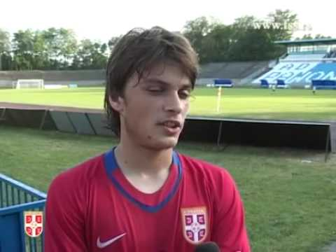 Adem Ljajic - Serbia u-19 INTERVIEW
