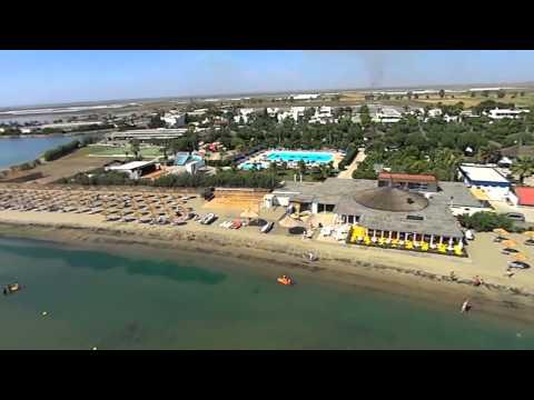 L'hotel villaggio African Beach di Manfredonia